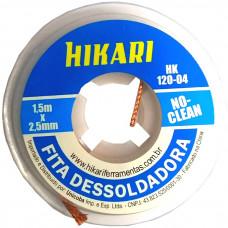FITA DESSOLDADORA 2,5mm x 1,5mm HIKARI
