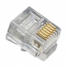 CONECTOR RJ11 6P6C