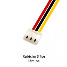 RABICHO P/ CÂMERA 3FIOS LAMINA
