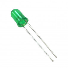 LED 5MM DIFUSO VERDE