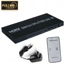 MATRIX HDMI 2X8  SWITCH FULL HD 3D