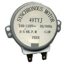 MOTOR MICROONDAS 3/3 6 Rpm 110v - EIXO METAL