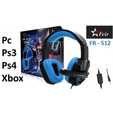 Fone Ouvido Gamer Ps3 Ps4 Pc Xbox Headset Microfone Feir Usb