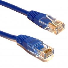 Cabo De Rede Ethernet Lan Rj45 Azul