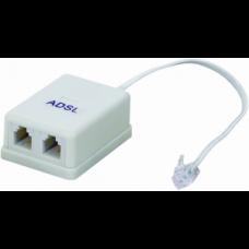 Filtro ADSL Duplo para Telefone e Internet