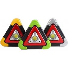 Triangulo Sinalização Carro Caminhão 5 Funções Recarregavel