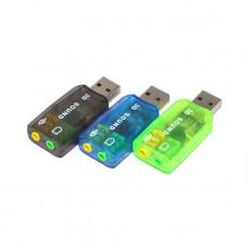 ADAPTADOR USB PARA PLACA DE SOM 5.1 - 3D