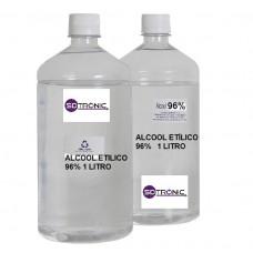 ALCOOL ETILICO 96% 1 LITRO ALPHA